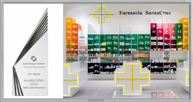 Farmacia Santa Cruz, por Marketing Jazz (Primer premio)