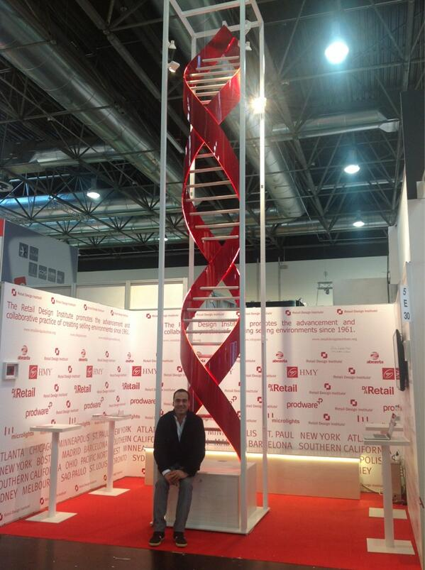 08 DIA 1.EUROSHOP. CARLOS AIRES STAND