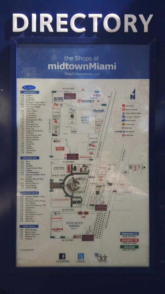 Miami Design District ... MidTown ... nuevo concepto d Mall urbano. Fashion, Leisure, Office & Residential Lofts