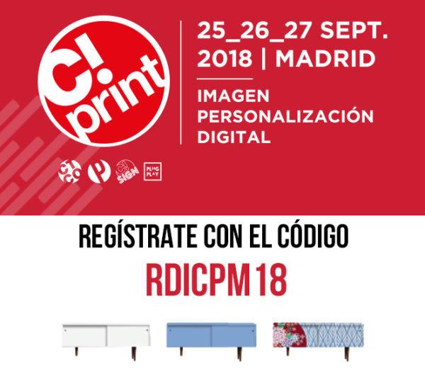 Salón Cprint! Madrid 25, 26 y 27 de septiembre de 2018 en el
