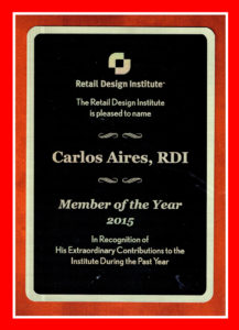 Carlos Aires member of the year 2015