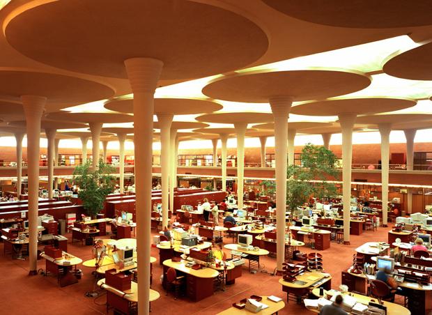 Edificio Johnson & Johnson por Frank Lloyd Wright