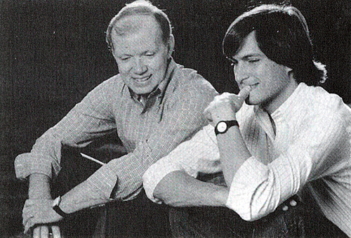 Regis Mackenna & Steve Jobs, 80s